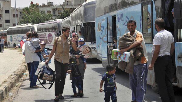Les habitants de Homs rentrent dans leurs foyers - Sputnik France