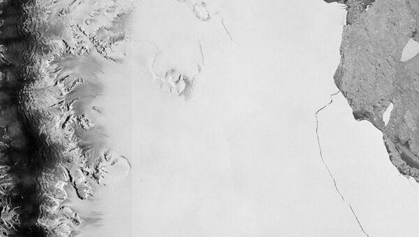 L'iceberg géant A68 qui s'est détaché de la plateforme Larsen-C en Antarctique - Sputnik France