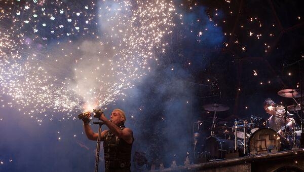 Till Lindemann, le chanteur du groupe Rammstein - Sputnik France