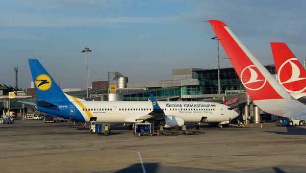 Ukraine international airlines - Sputnik France