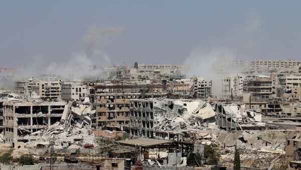 إنفجار في حي القامشلي بسوريا - Sputnik France