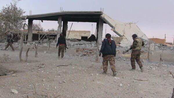 Les combattants des FDS à Raqqa - Sputnik France