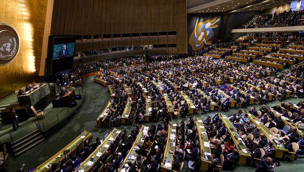 Donald Trump à la tribune de l'ONU - Sputnik France