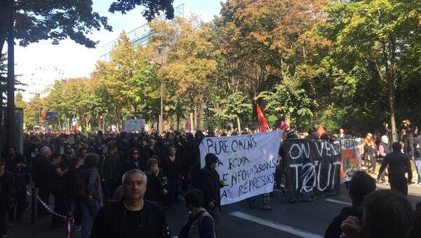 Manifestation contre la loi travail: une nouvelle journée de mobilisation à Paris - Sputnik France