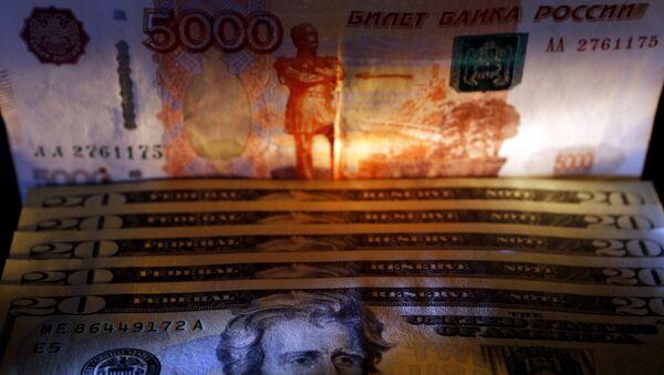 dollars et roubles - Sputnik France