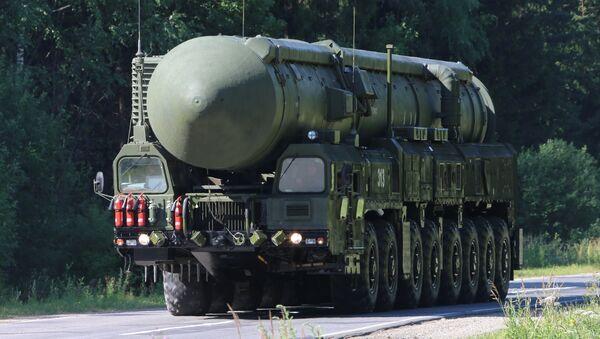 Sergei Shoigu inspects Teykovo Guards Missile Division and Yars land-based mobile missile system - Sputnik France