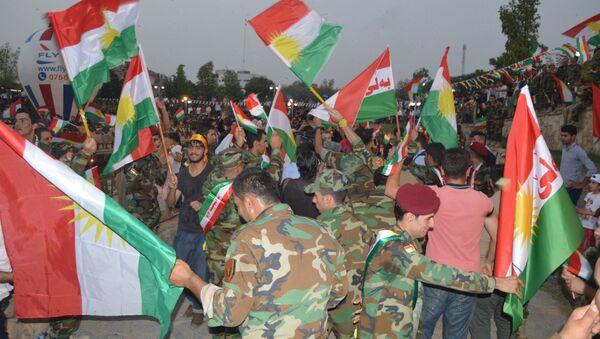 En prévision du référendum sur l'indépendance du Kurdistan irakien - Sputnik France