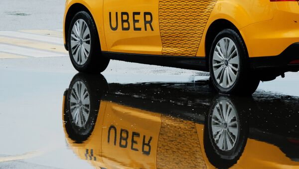 Un taxi Uber - Sputnik France