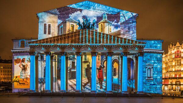 Festival Internacional de Moscú 'Círculo de Luz' 2015. Teatro Bolshói - Sputnik France
