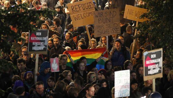 Proteste gegen AfD, Bundestagswahl - Sputnik France