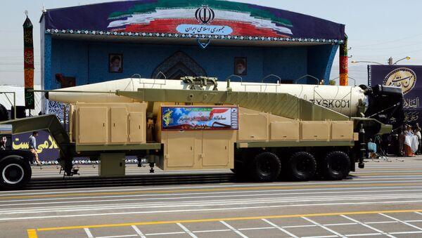 missile balistique iranien Khorramshahr - Sputnik France