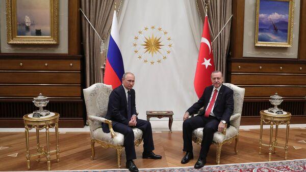 Vladimir Poutine er Recep Tayyip Erdogan - Sputnik France