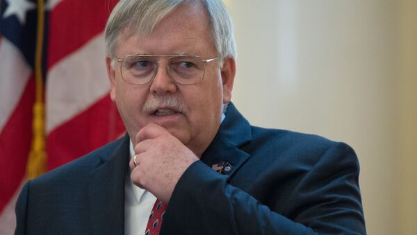 John F. Tefft, the United States Ambassador to the Russian Federation, at a reception on the occasion of the US Independence Day at the US Ambassador's residence in Moscow - Sputnik France