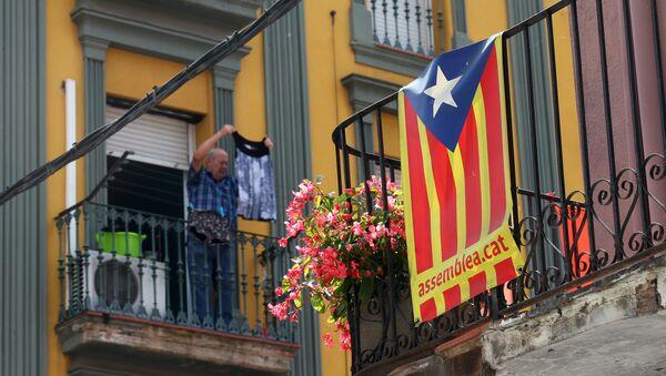 Estelada, bandera separatista de Cataluña - Sputnik France