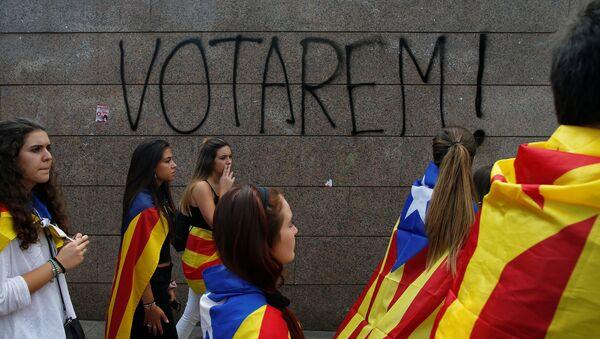 Partidarios de la independencia de Cataluña - Sputnik France