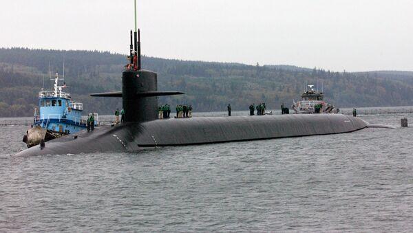 Le sous-marin USS Louisiana à la base navale de Kitsap - Sputnik France