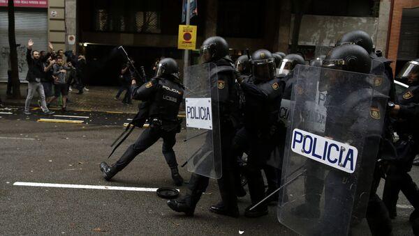 Police espagnole en Catalogne - Sputnik France