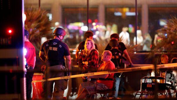 Las Vegas après la fusillade du 1er octobre 2017 - Sputnik France