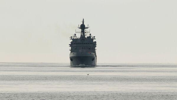 grand navire de débarquement russe - Sputnik France