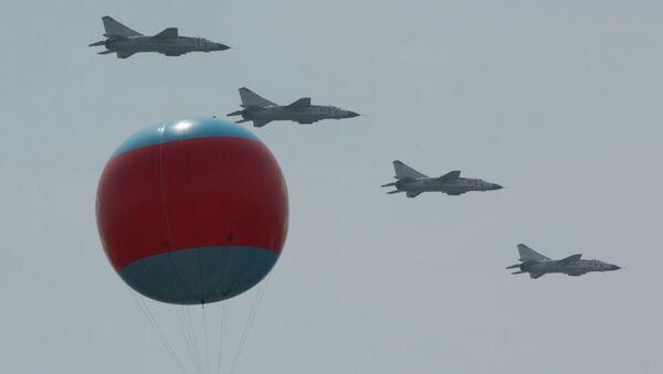 MiG 23 fighter jets during the military parade in Pyongyang (File) - Sputnik France