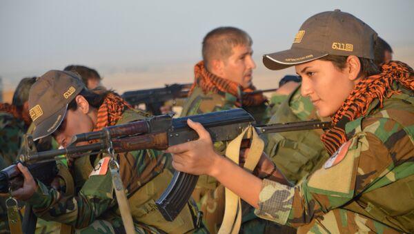 Femmes Peshmergas à Kirkuk - Sputnik France