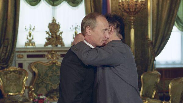 Kim Jong Il et Vladimir Poutine - Sputnik France