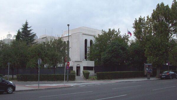 L'ambassade de Russie à Madrid - Sputnik France