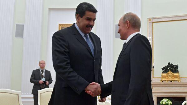 Встреча президента РФ В. Путина с президентом Венесуэлы Н. Мадуро - Sputnik France