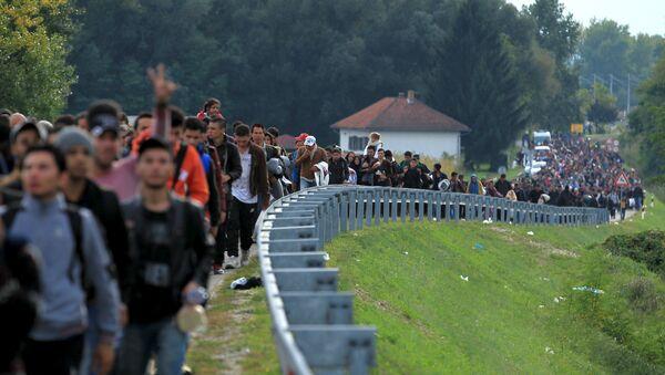 La crise migratoire en cours - Sputnik France