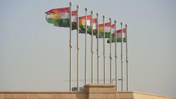 Banderas de Kurdistán iraquí - Sputnik France