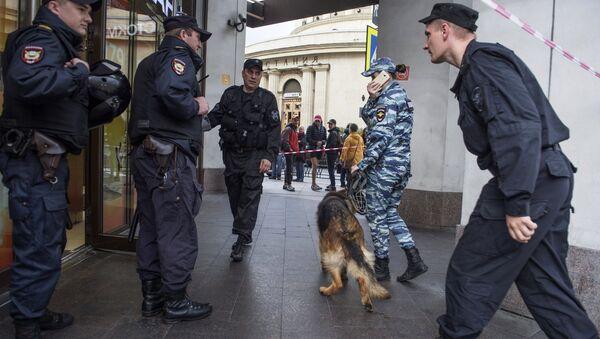La police de Saint-Pétersbourg - Sputnik France