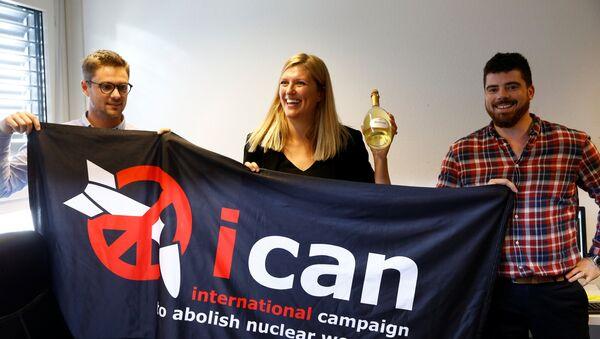 la Campagne internationale pour l'abolition des armes nucléaires - Sputnik France