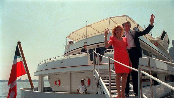 Donald Trump et sa première épouse Ivana en 1988 - Sputnik France