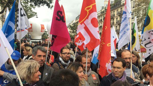 les centrales syndicales affichent un front commun face à la réforme du Code du travail - Sputnik France