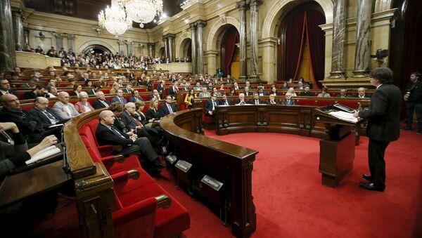 Parlement catalan à Barcelone - Sputnik France