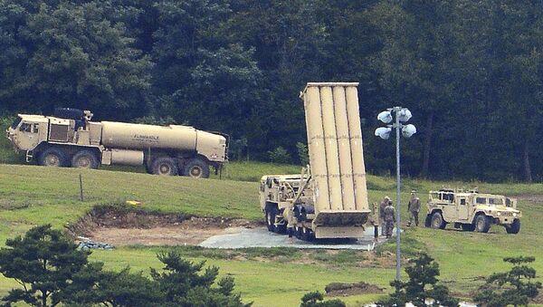 Le système américain THAAD en Corée du Sud - Sputnik France