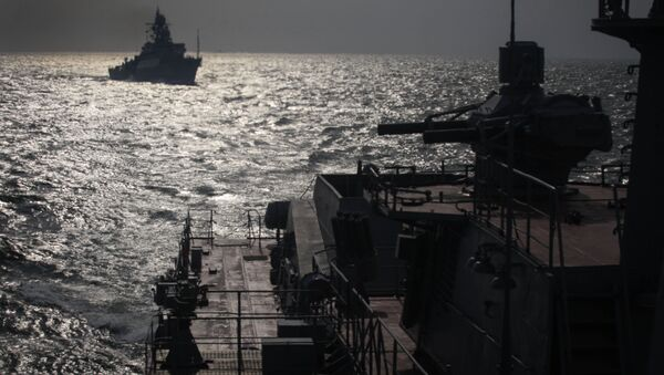 Navires de la Flottille russe de la Caspienne. Image d'illustration - Sputnik France