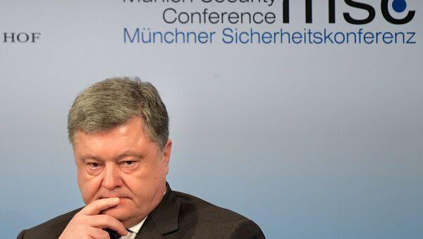 Piotr Porochenko, Président ukrainien - Sputnik France