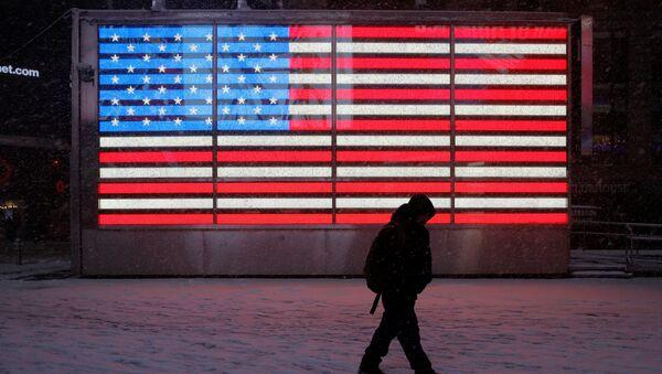 Le drapeau des États-Unis - Sputnik France