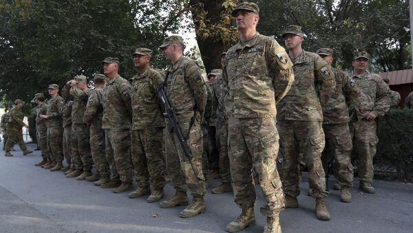 Militaires des USA et de l'Otan en Afghanistan - Sputnik France
