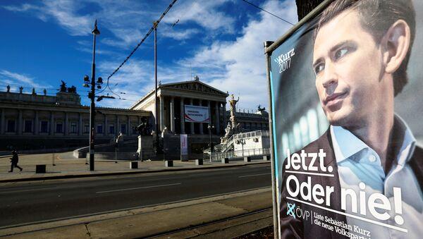 Affiche de l'ÖVP - Sputnik France