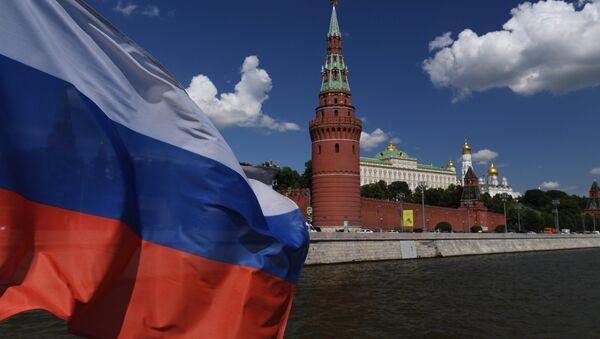 Le Kremlin de Moscou et le drapeau russe - Sputnik France