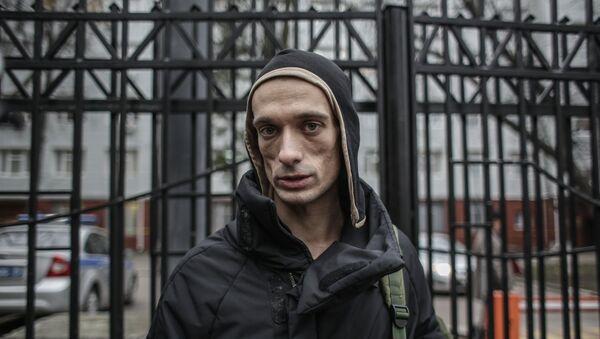 Piotr Pavlenski - Sputnik France