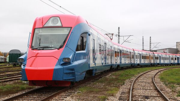 Le train interurbain Ivolga conçu par Transmashholding - Sputnik France