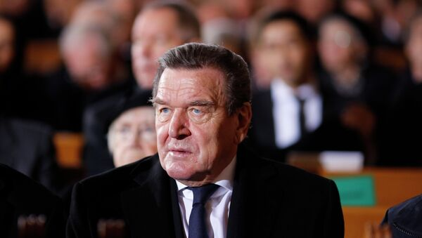 Gerhard Schröder - Sputnik France
