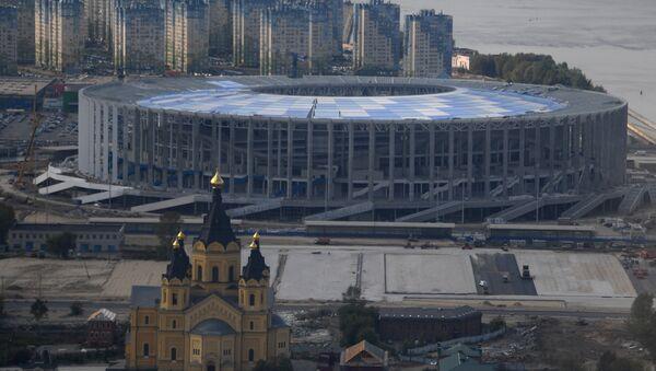 La construction du stade Nijni-Novgorod - Sputnik France