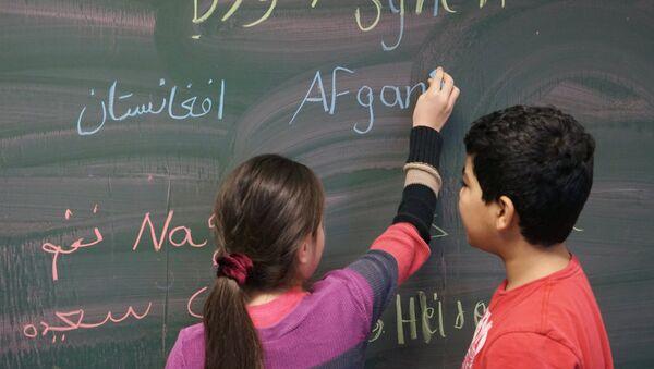 Écoliers syriens - Sputnik France