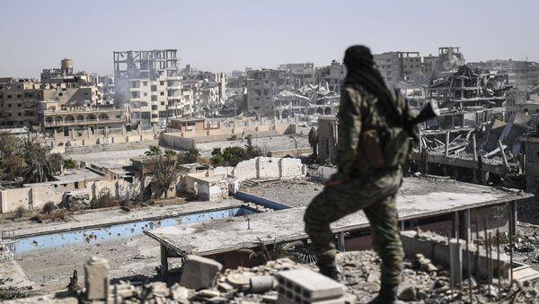 Les ruines de Raqqa - Sputnik France