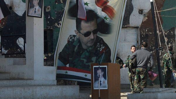 Центр подготовки бойцов ополчения в Сирии - Sputnik France