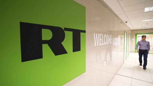 Russia Today logo - Sputnik France